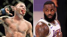 'Coward': UFC fighter's shameless new swipe at 'spineless' LeBron James