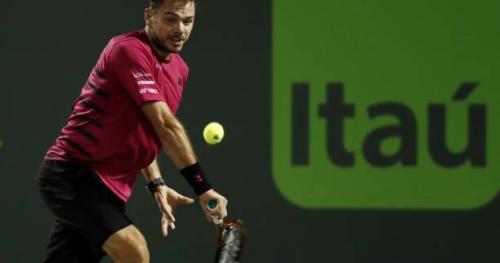 Tennis - ATP - Miami - Miami : Stan Wawrinka, Nick Kyrgios et David Goffin passent en huitièmes de finale