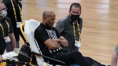 Ref: On-court collapse saved my life