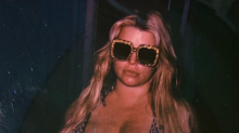 Fans praise Jessica Simpson for showing off her heavily pregnant body in a bikini: 'Always keeping it real'
