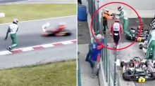 'No excuse': Driver quits motorsport after 'disgraceful' meltdown