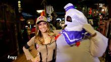 Cathy Hummels testet Halloween-Kostüme