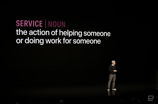 All the important stuff from Apple's services event (+)