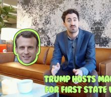 Business + Coffee: Trump and Macron, Tencent Music, Mega earnings week