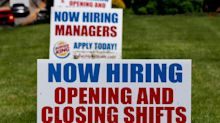 Signs US unemployment crisis has peaked as jobless get back to work