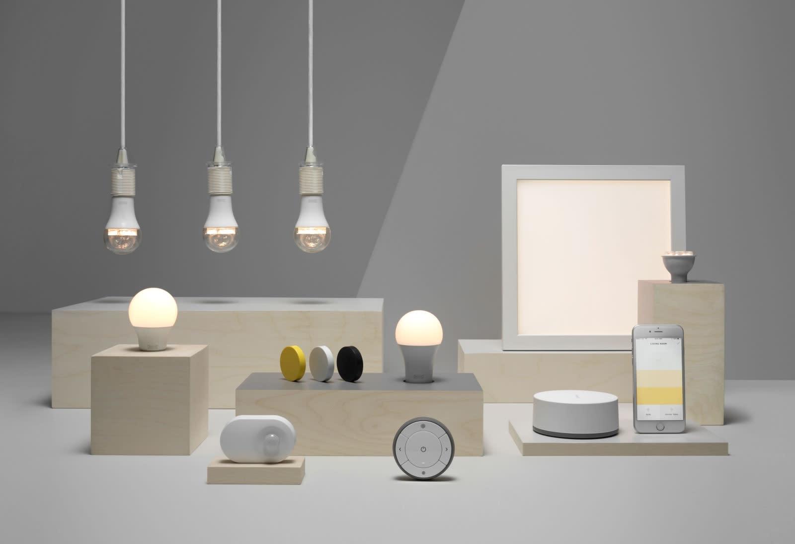 Ikea S Smart Lighting Officially