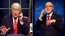 Alec Baldwin's Trump Plots With A Wacky 'Rudy' On Impeachment In 'SNL' Season Opener
