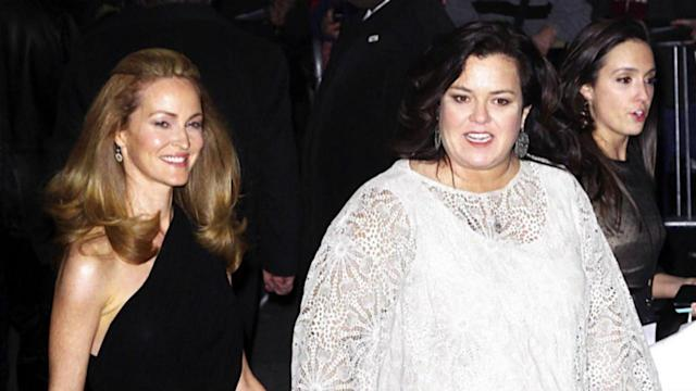 Rosie O'Donnell Marries Michelle Rounds in Surprise Ceremony
