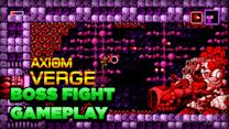 Giant Cannon Boss Fight Gameplay - Axiom Verge