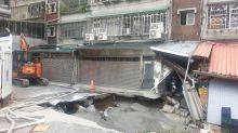 文化路灌漿修復 工務局:將開罰廠商並賠償住戶