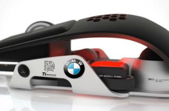 BMW and Thermaltake made this weird-lookin' gaming mouse (just look at it!)