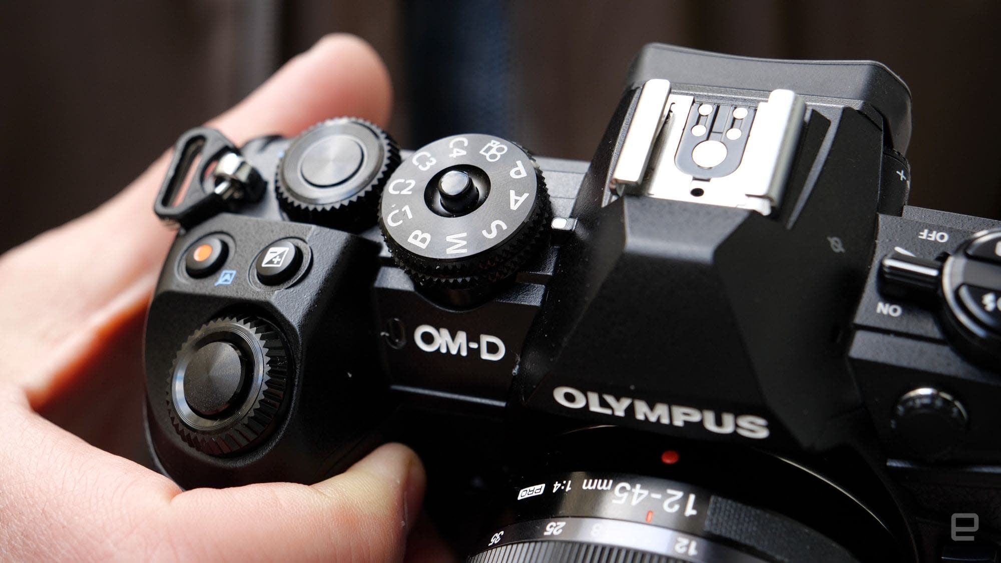 Olympus O-MD E-M1 Mark III Micro Four Thirds mirrorless camera