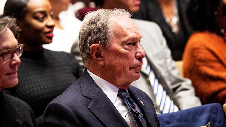 Past remarks are fair game for Bloomberg rivals