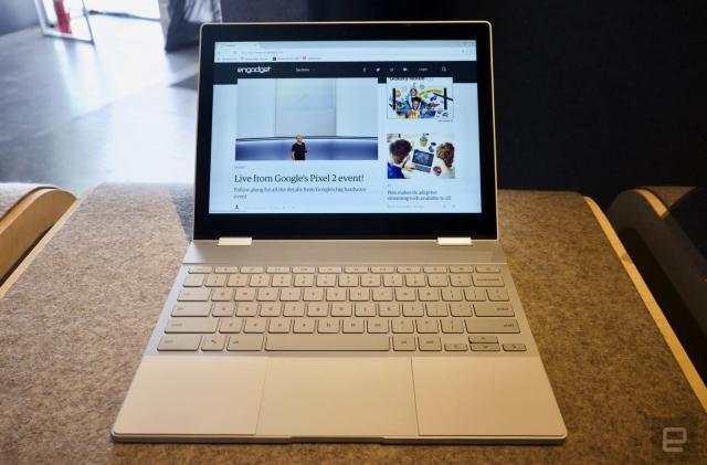 Pixelbook hands-on: stunning hardware for Chrome OS aficionados