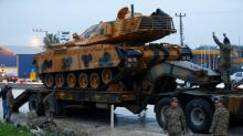 Turkey says could act in Syria unless Washington withdraws support for Kurdish force