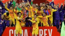 Messi stars as Barcelona thrash Athletic Bilbao to lift Copa del Rey