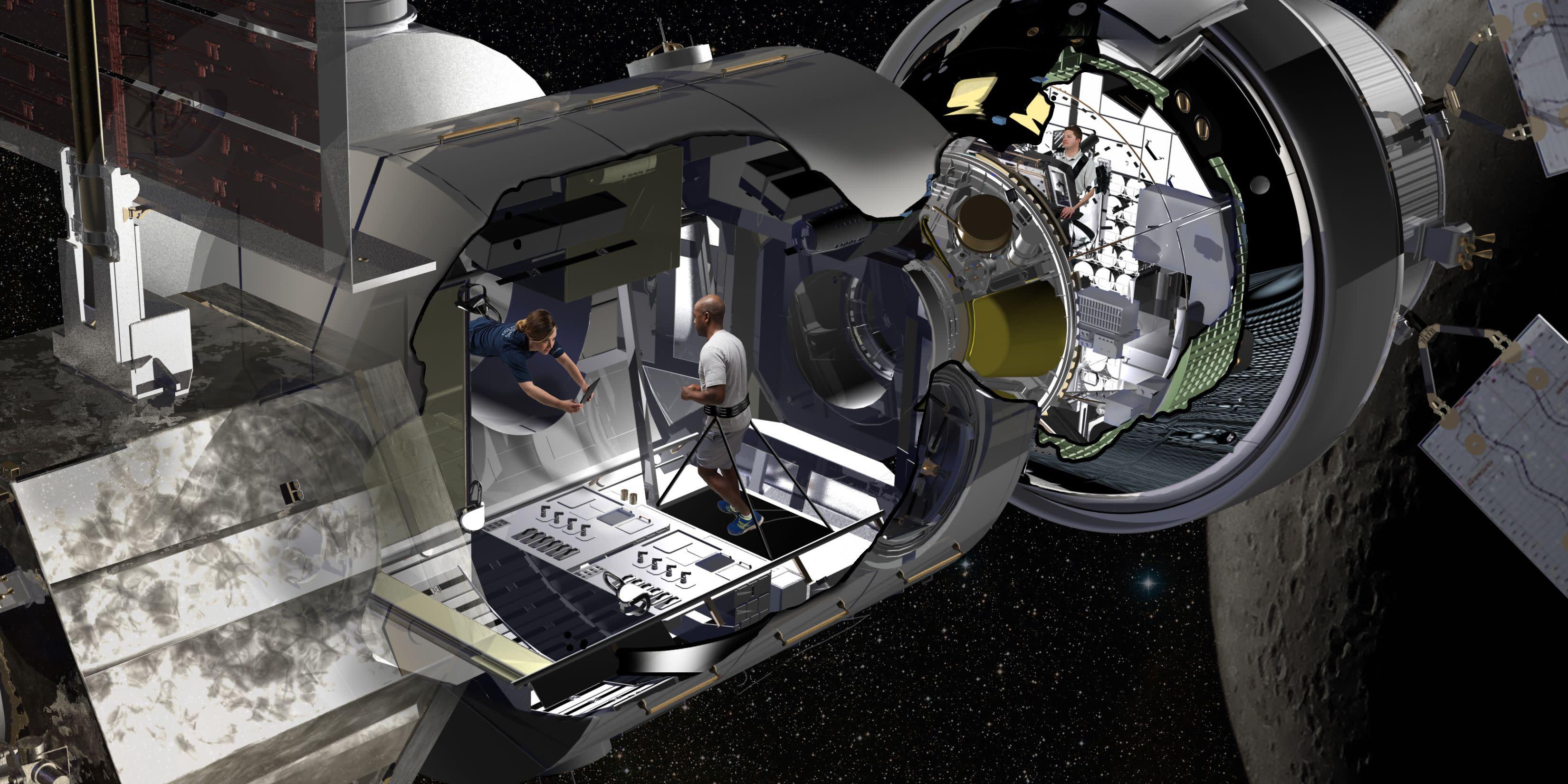 nasa future spaceship - HD2700×1350