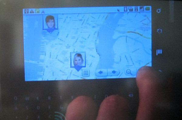Screen Grabs: Nate Archibald dials up Google Latitude to locate poor Jenny