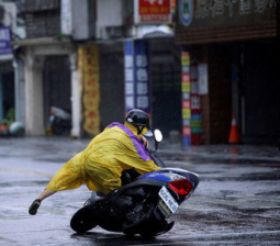 Taiwan's third typhoon of the month kills at least four, injures hundreds