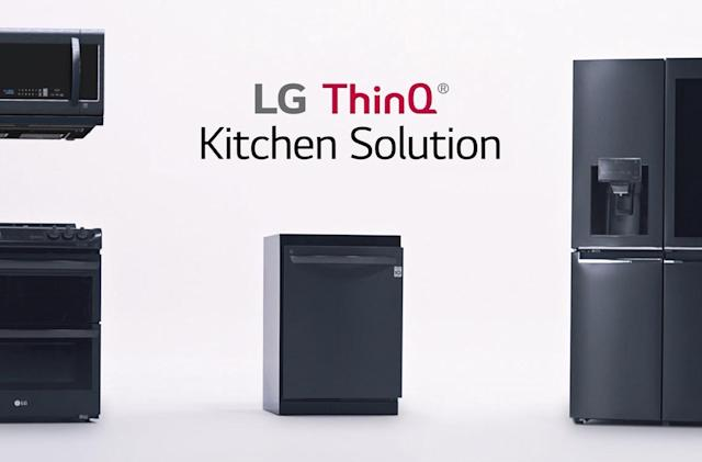 LG's Alexa-powered fridge sends recipes to your oven