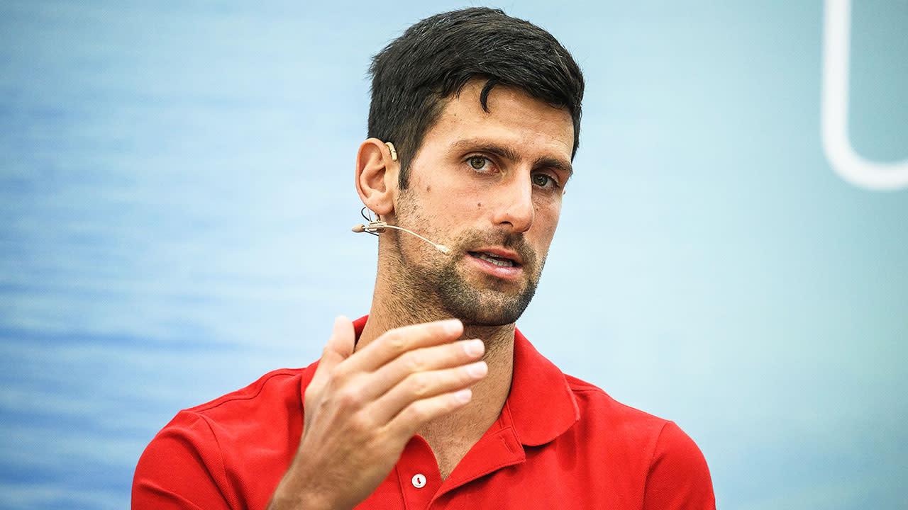 Tennis Dan Evans Disagrees With Novak Djokovic Criticism