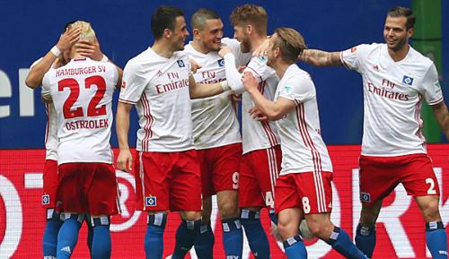 Bundesliga: Doppelpacker Hunt schießt HSV zum Sieg