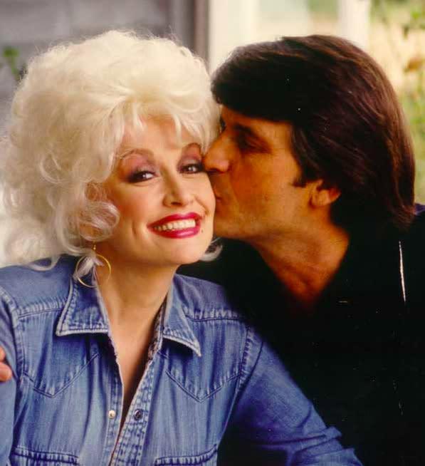 A rare photo of Dolly Parton and her husband, Carl Dean. (Photo: DollyParton.com)