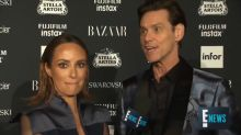 Jim Carrey gives the weirdest red carpet interview of all time