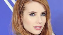 Emma Roberts Has the Coolest Face-Framing Braid