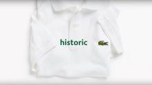 Warum Lacoste auf sein Krokodil-Logo verzichtet