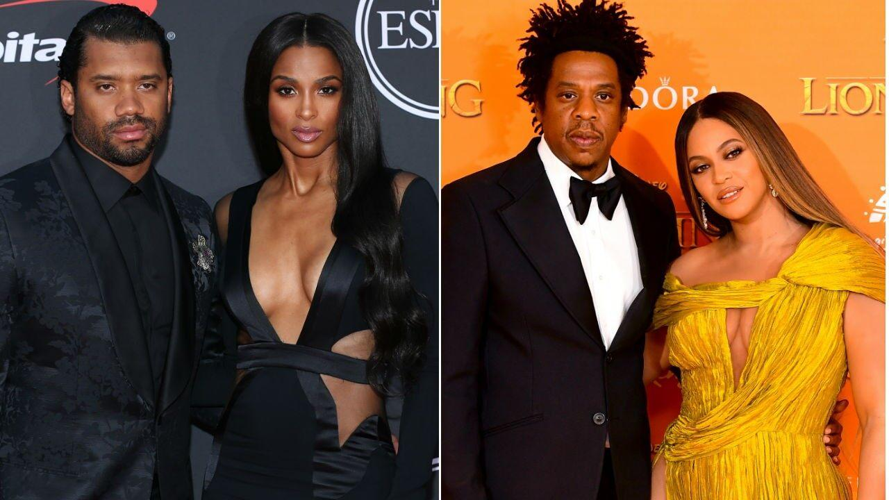Ciara and Russell Wilson Win Halloween With 'Apes**t' Beyonce and JAY-Z Costumes