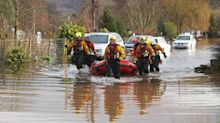 Storm Dennis: Heavy rain sees river in flood-ravaged town reach highest level in 200 years