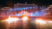 Las Vegas se adelanta a la 8ª temporada de Juego de tronos con un increíble espectáculo de luz y agua