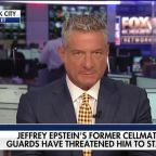Jeffrey Epstein's former cellmate claims guards have threatened him to stay silent