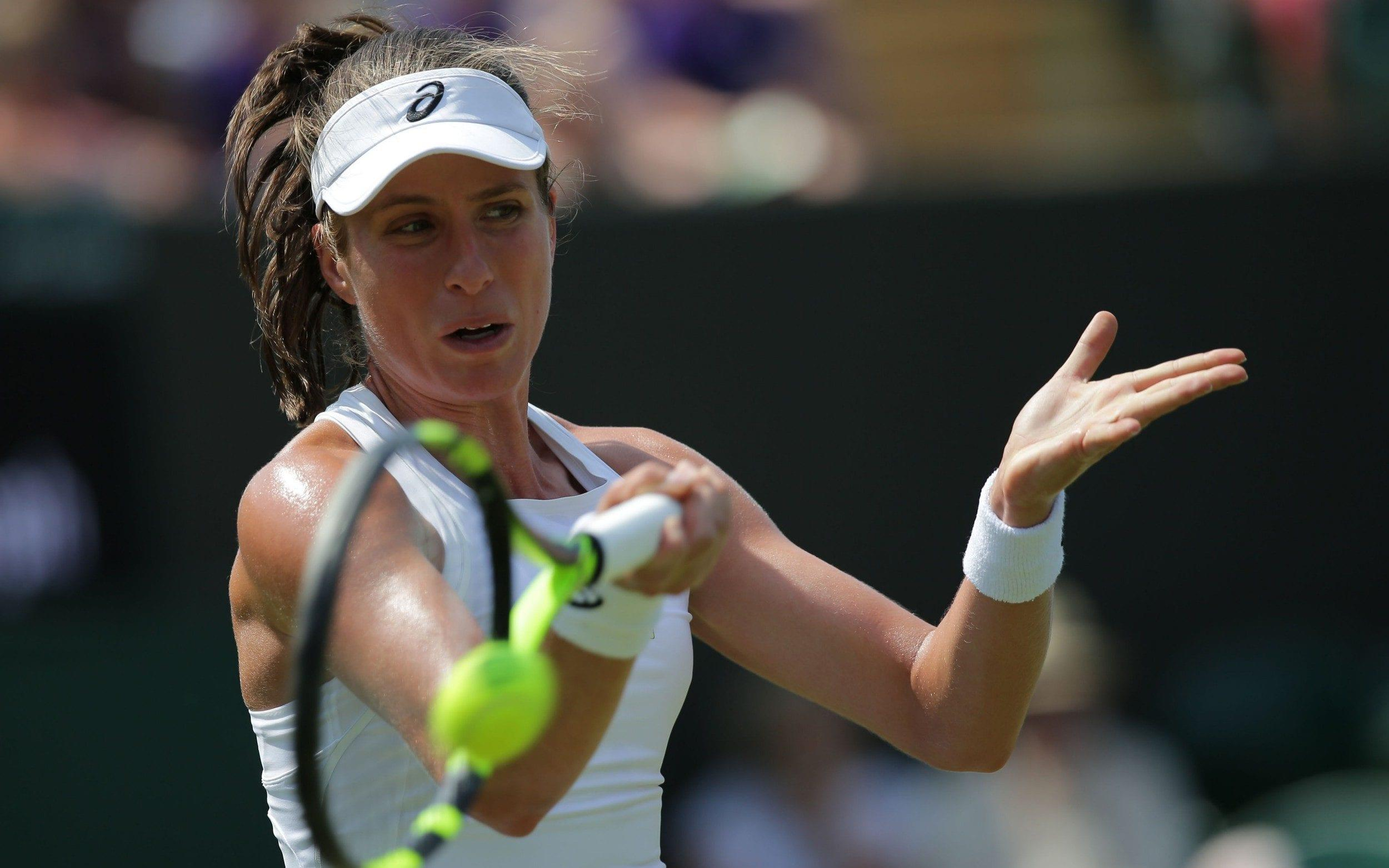 Johanna Konta vs Dominika Cibulkova, Wimbledon 2018: live