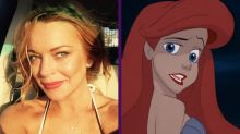 Lindsay Lohan no quiere que Lea Michele interprete a Ariel