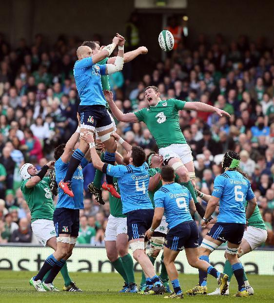 Ireland Can't Wait For Italy Win