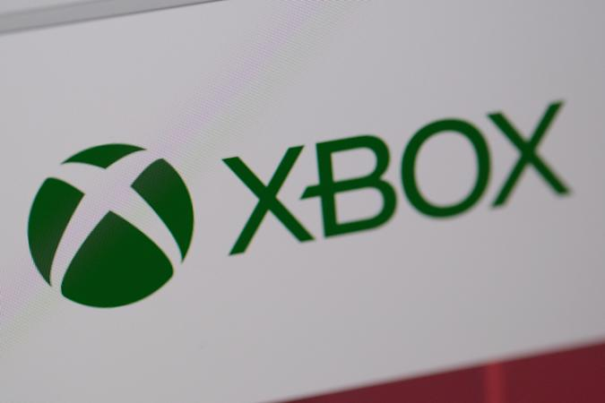 KATWIJK, NETHERLANDS - APRIL 20: Microsoft Corp.'s X-box logo is pictured on a computer screen on April 20, 2020 in Katwijk, Netherlands.  (Photo by Yuriko Nakao/Getty Images)