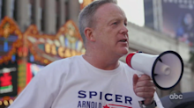 Sean Spicer turns 'DWTS' into a political campaign: ''I figured I'd go back to my roots'