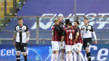 Serie A, Parma-Milan 1-3