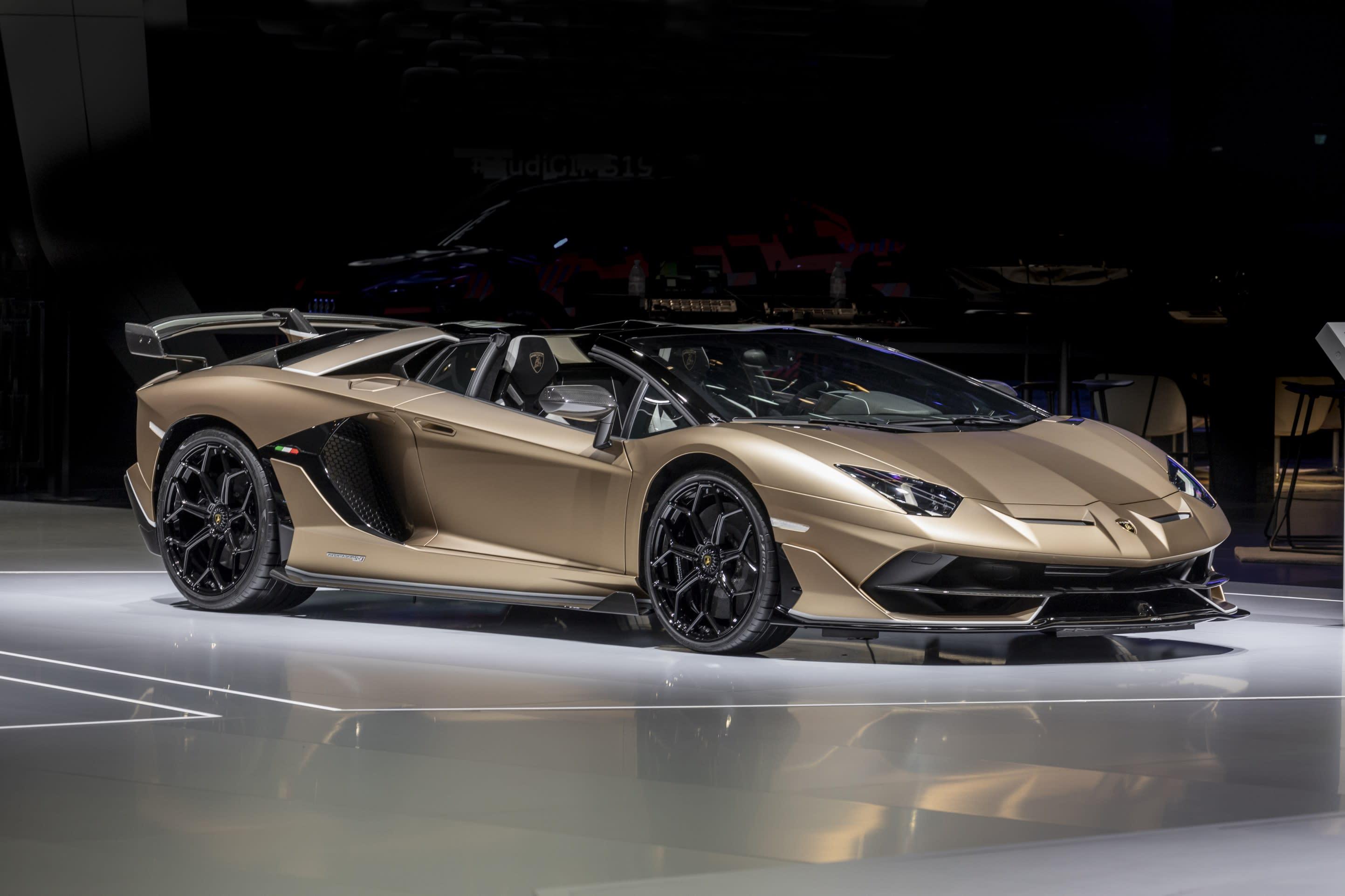 Geneva Motor Show Lamborghini reveals the Aventador SVJ