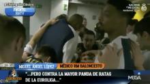 """El médico del Real Madrid llama """"panda de ratas"""" al Barcelona"""