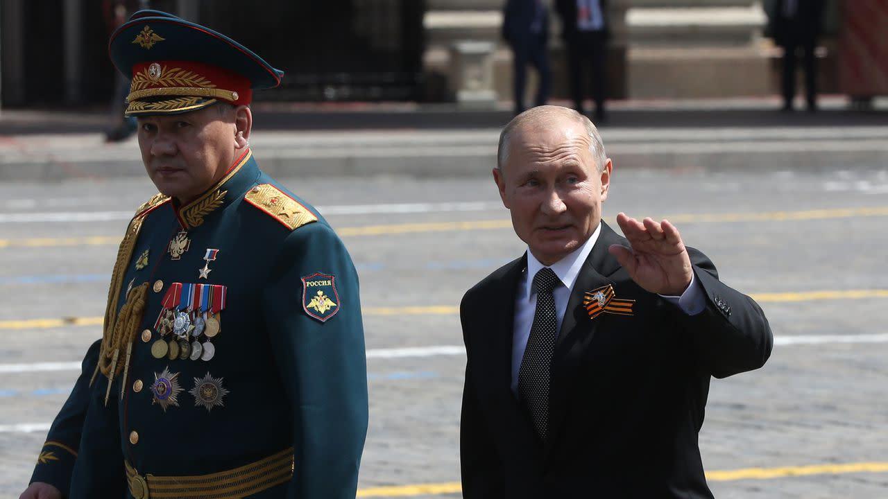 Russia announces end to massive troop buildup near Ukraine