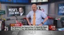 Cramer: The court can rein in Tesla CEO Elon Musk's tweet...