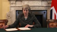 This photo marks the moment it all went wrong for Theresa May