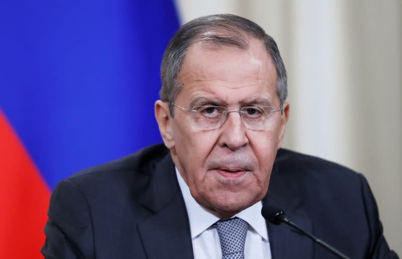 Russia's Lavrov, Iran's Zarif discuss Soleimani killing: statement
