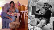 Sem tempo para banho! Giovanna e Bruno mostram como é ter um bebê em casa