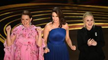 Nonhosts Tina Fey, Amy Poehler and Maya Rudolph rock Oscars opening