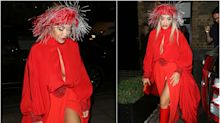 El desafortunado 'total look' de Rita Ora en Londres