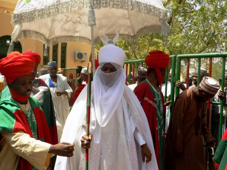 Muhammadu Sanusi II, the traditional leader of northern Nigeria's influential Islamic emirate of Kano, was unceremoniously deposed by the local governor (AFP Photo/AMINU ABUBAKAR)